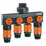 Claber 4 Way Water Distributor *DISCONTINUED*