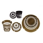 GH Net Cups Brown — 6 inch (50 pack)