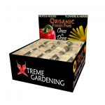 Xtreme Gardening Organic Feeder Paks Six Pack Display *DISCONTINUED*