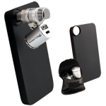 Grower's Edge iPhone 4/4S Case with LED Pocket Microscope – 60x