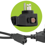 Power All Commercial Grade 125 Volt Cords w/ Circuit Breaker – 14 Gauge