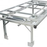 4′ x 8′ Rolling Floating Aisle Bench System / Stand
