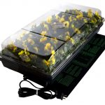 Jump Start Germination Station w/ Heat Mat, tray, 72 cell pack, 2 inch dome