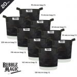 Bubble Magic Extraction Bags – 8 Bag Set – 20 Gallon