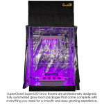 SuperCloset LED SuperRoom 2×4 Grow Room Package