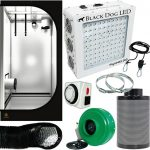 Black Dog PhytoMAX 200W LED Grow Room Package – 3 x 3