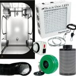 Black Dog PhytoMAX 400W LED Grow Room Package – 4 x 4