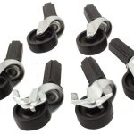 Fast Fit Caster Wheels – 6 pc