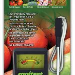Rapitest Soil pH Meter Model 1840 by Luster Leaf