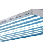New Wave T5 HO Fluorescent Light Fixture – 8 Lamp – 48 inch