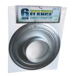 6 inch Wide Mount Flange