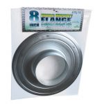 8 inch Wide Mount Flange