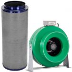 Active Air – 12″ Inline Duct Fan + Carbon Filter Combo (12×39)