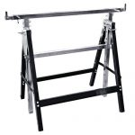 Adjustable Saw Horse Flood Table Tray Stands