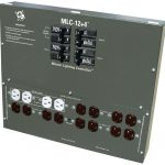 C.A.P. MLC-12P4 Master Light Controller w/ (12) 240 outlets plus (4) 120 aux outlets *DISCONTINUED*