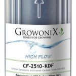 GrowoniX Premium KDF85 / Catalytic Carbon Filter 2.5 x 9.75 in
