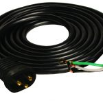 15′ 16/3 600V Male Lock & Seal Cord UL