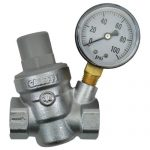Dosatron Pressure Regulator w/ Gauge – 3/4 in (FPT x FPT)