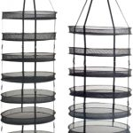 Ezi Drying Rack – 8 Tier – 2′ Diameter w/clips