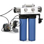 GrowoniX EX1000-T Deluxe Reverse Osmosis System with UV, Pump & Solenoid Valve 2000GPD