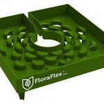 FloraFlex 6 in FloraCap Top Feed Dripper for Rockwool Cubes