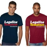 Growers House Legalize Tomatoes T-Shirt – 420/Rasta – L