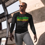 GrowersHouse Legalize Tomatoes T-Shirt – 420 Rasta – Long Sleeve