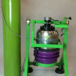 Grasshopper Pollen Extractor – Liquid CO2 Extractor