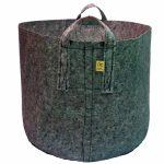 Heavy Duty Fabric Pot 10 Gallon w/ Handles – Grey *DISCONTINUED*