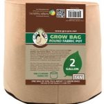 Gro Pro Premium Round Fabric Pot – Tan – 2 Gal