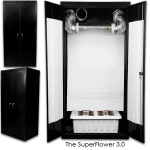 SuperCloset SuperFlower 3.0 Grow Cabinet