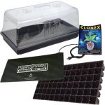 Grow Crew 72 Cell Germination & Cloning Propagation Kit 7 inch Dome