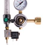 Hydrofarm CO2 Regulator (1-20 cu ft / hour) with Timer