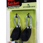 Hydrofarm 1/8 inch Rope Ratchet – 2 per pack