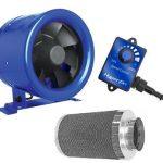 Hyper Fan 8 inch 710 CFM /w Phresh Filter 8 inch x 24 inch 750CFM