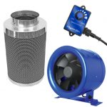 Hyper Fan 6 inch – 315 CFM + Phresh 550 Carbon Filter Combo