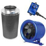 Hyper Fan 8 inch – 710 CFM + Phresh 750 CFM Carbon Filter Combo