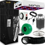 Kind L300 LED Gorilla Grow Room Package – 2 x 2.5