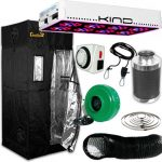 Kind LED L450 Gorilla Grow Room Package – 3 X 3