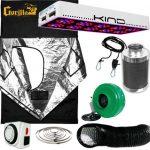 Kind LED L600 Gorilla Grow Room Package – 4 X 4