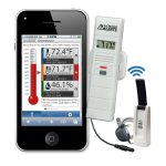 La Crosse Temperature & Humidity Wireless Alert System – Text & Email Function – New App-Based Model: 926-25101-WGB