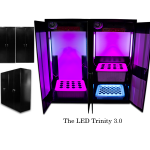 SuperCloset LED Trinity 3.0 LED Grow Boxes