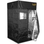 Gorilla Grow Tent LITE LINE – 4′ x 4′ x 6'7″