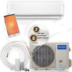 MrCool DIY Series Ductless Mini-Split Heat Pump System 17.5 SEER – 12,000 BTU with WiFi