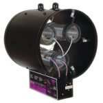 Uvonair 12 Inch CD-In-Line Duct Ozonator Corona Discharge