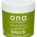 Ona Block Fresh Linen — 6 oz