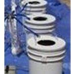 PowerFlow DWC Hydroponic System – 5 bucket – single row