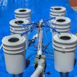 PowerFlow DWC Hydroponic System – 6 bucket