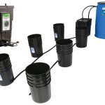 Flo-n-Gro Tsunami 5 Gallon Ebb and Flow 6 Site System