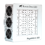 Black Dog LED – PhytoMAX-2 200W Grow Light
